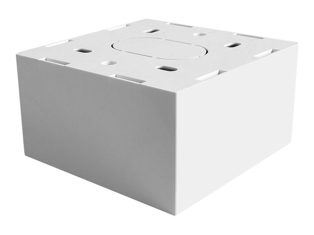 LINDY - Installationskasten Netzwerkoberfläche - weiss