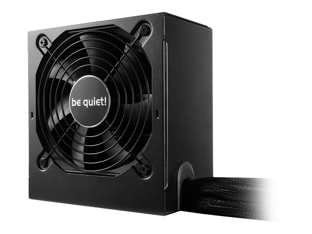 be quiet! System Power 9 500W - Stromversorgung (intern) - ATX12V 2.4 - 80 PLUS Bronze - Wechselstrom 200-240 V - 500 Watt