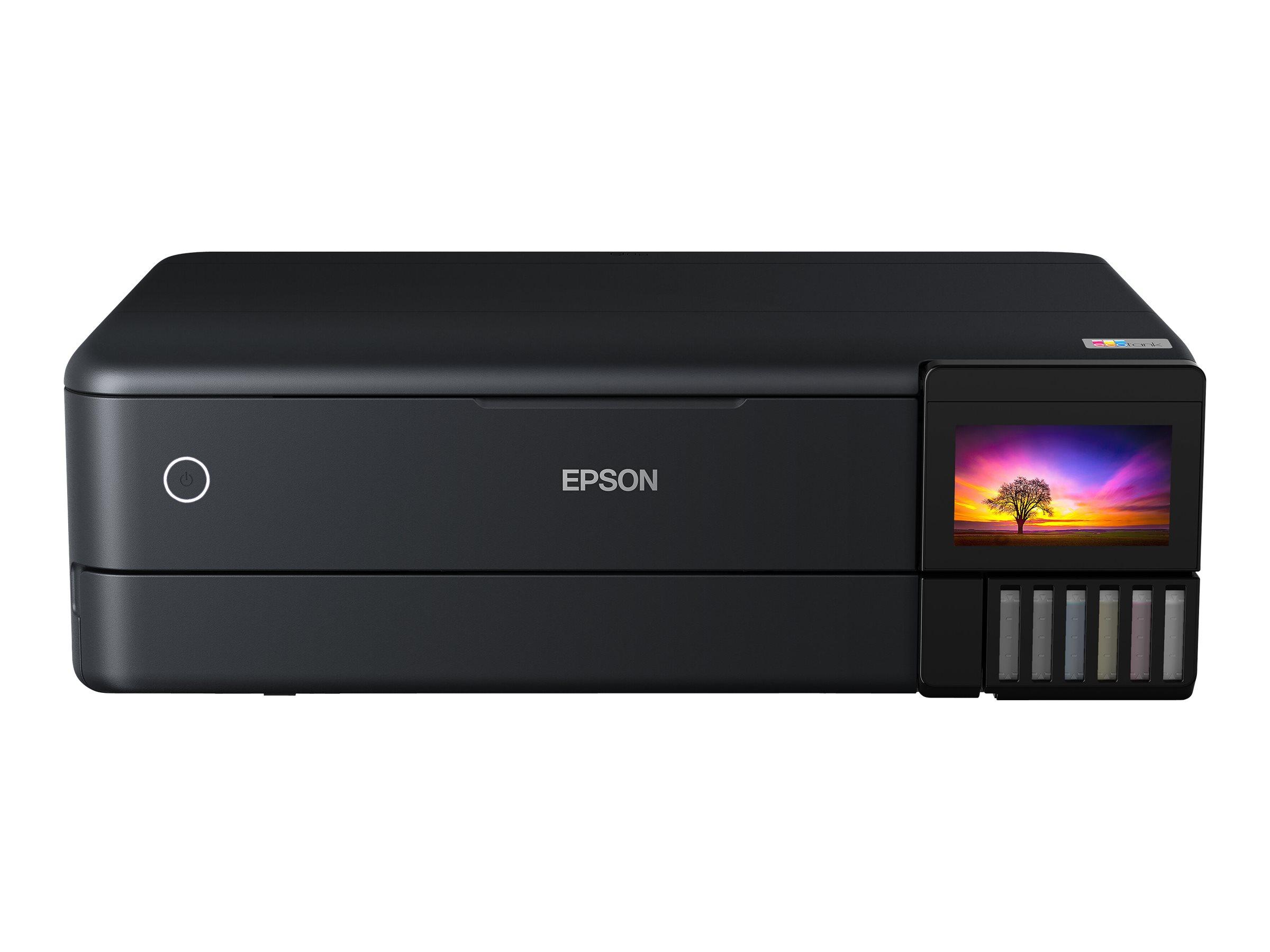 Epson EcoTank ET-8550 - Multifunktionsdrucker - Farbe - Tintenstrahl - refillable - A3 (Medien)