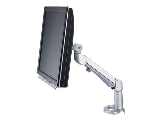ROLINE - Befestigungskit (Standfuss) für LCD-/Plasmafernseher - Aluminiumlegierung - Silber - Standfussmontage