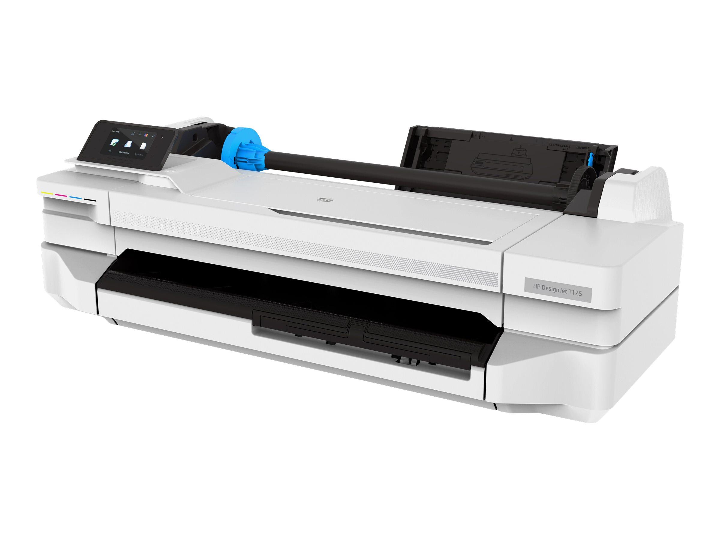 HP DesignJet T125 - 610 mm (24