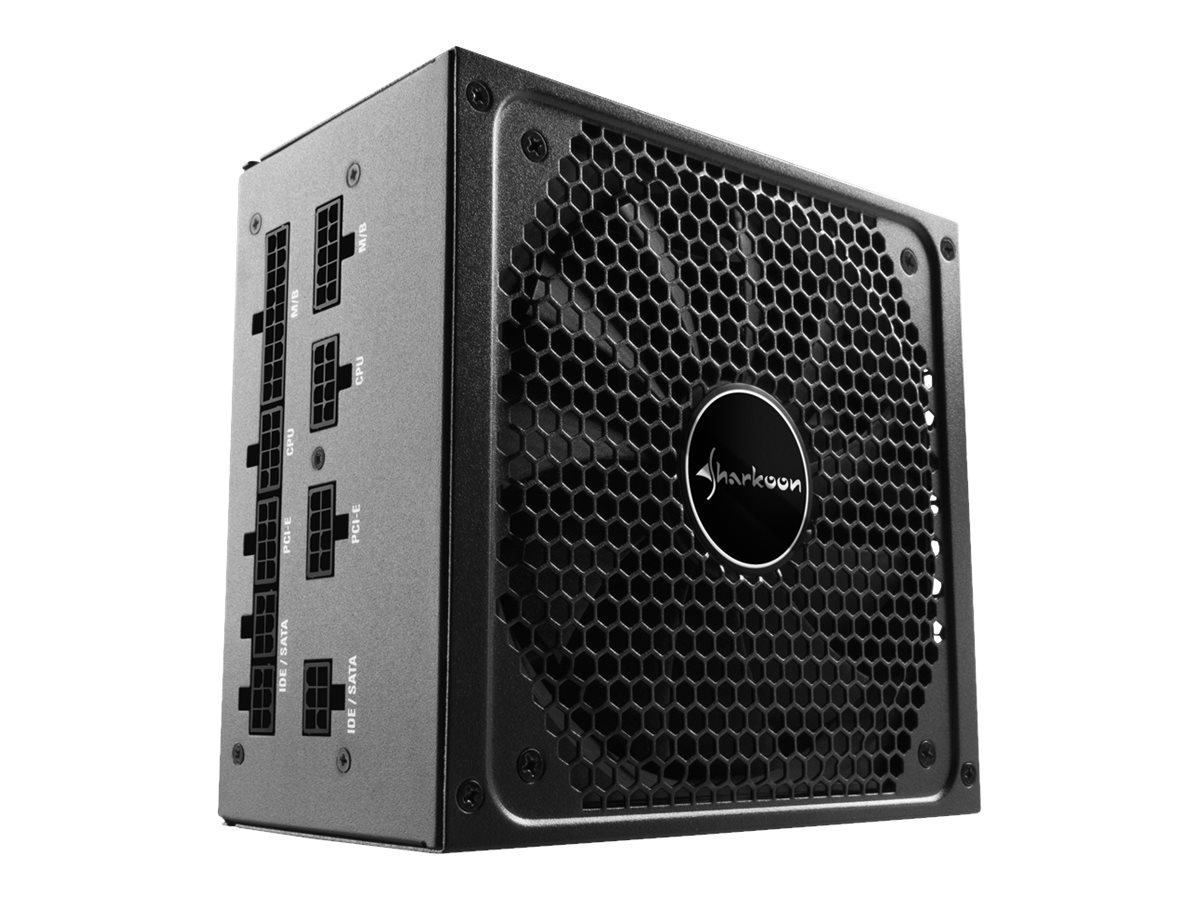 Sharkoon SilentStorm Cool Zero 850 - Netzteil (intern) - ATX12V 2.4 - 80 PLUS Gold - Wechselstrom 110/230 V - 850 Watt