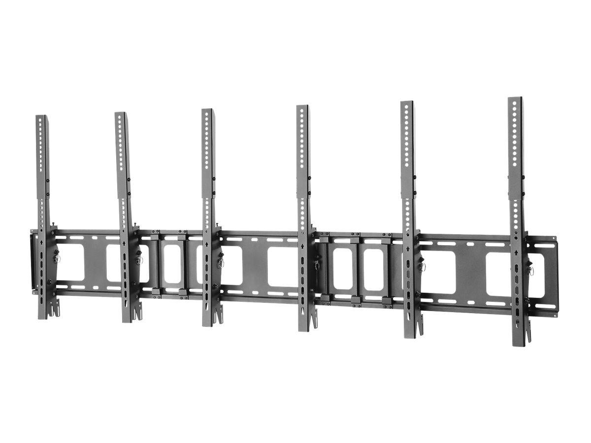 NewStar NS-WMB300PBLACK - Wandhalterung für Menüleiste - Schwarz