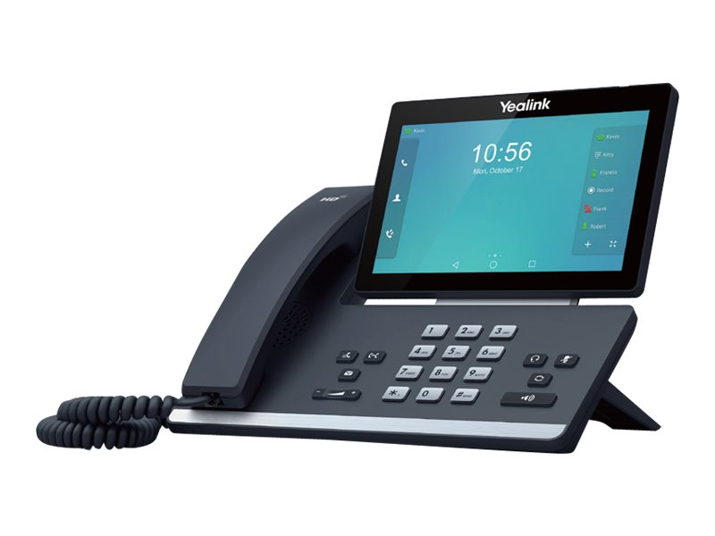 Yealink SIP-T58A - Skype for Business Edition - VoIP-Telefon - Bluetooth-Schnittstelle - IEEE 802.11b/g/n (Wi-Fi) - SIP, SIP v2,