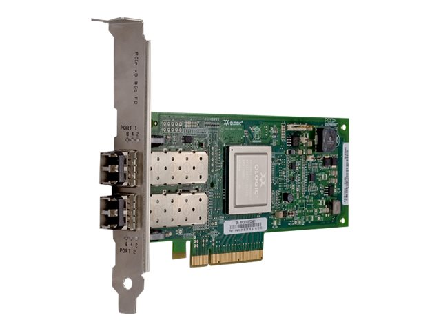 QLogic QLE2562 - Hostbus-Adapter - PCIe 2.0 x8 Low-Profile - 8Gb Fibre Channel x 2