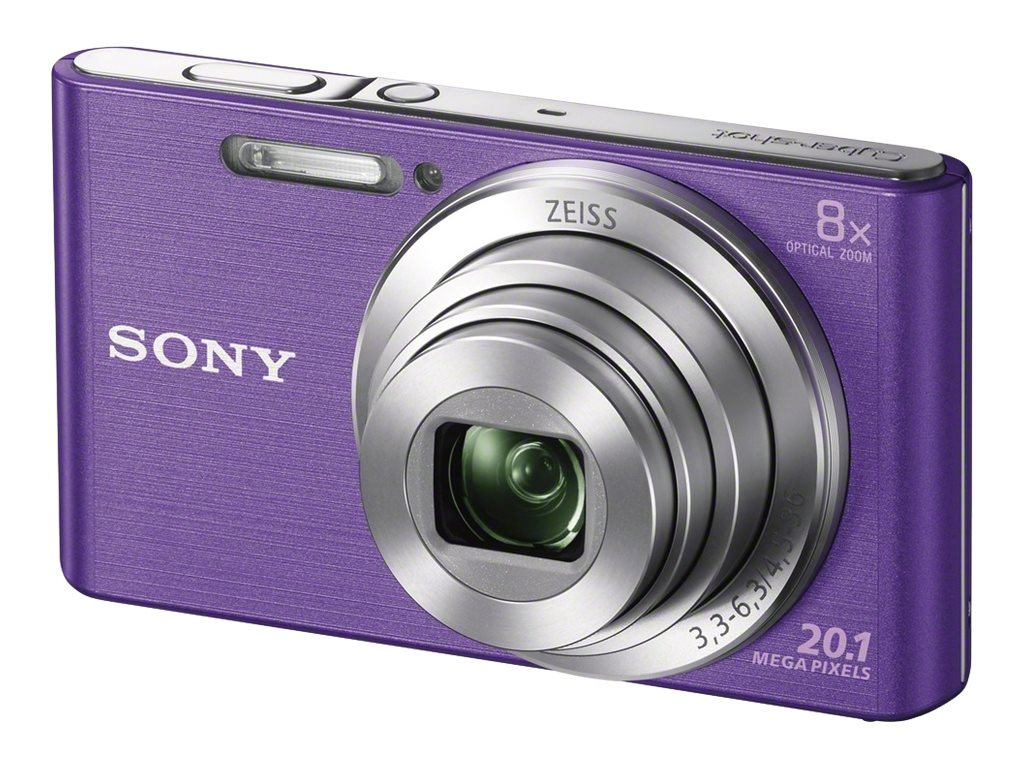 Sony Cyber-shot DSC-W830 - Digitalkamera - Kompaktkamera - 20.1 MPix - 720p - 8x optischer Zoom