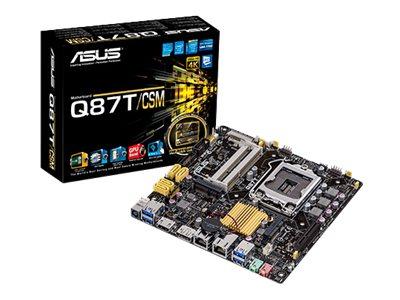 ASUS Q87T/CSM - Motherboard - Thin mini ITX - LGA1150-Sockel - Q87 - USB 3.0