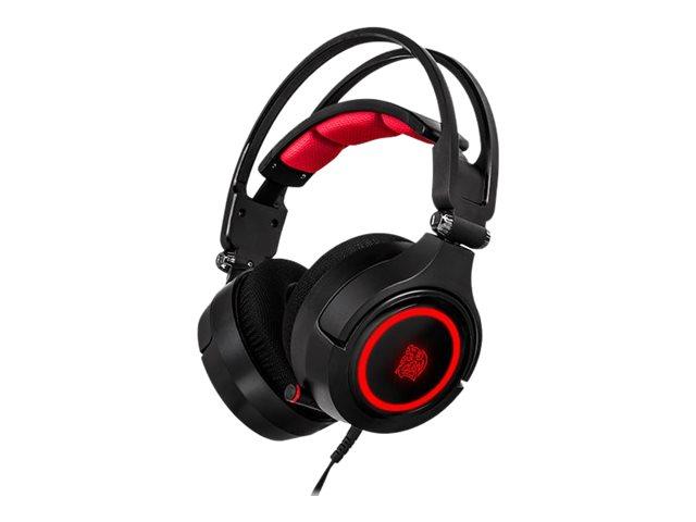 Tt eSPORTS CRONOS Riing RGB 7.1 - Headset - On-Ear - kabelgebunden - USB