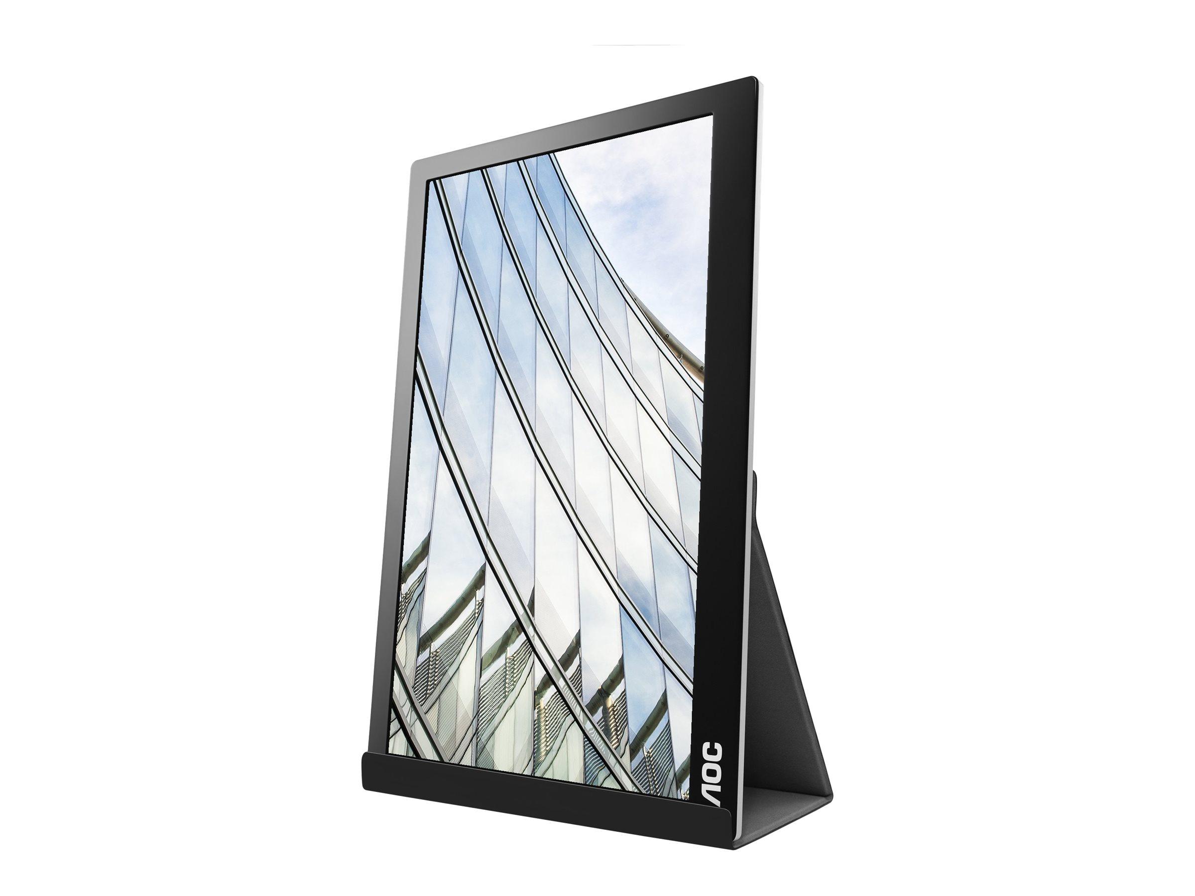 AOC I1601FWUX - LED-Monitor - 39.6 cm (15.6
