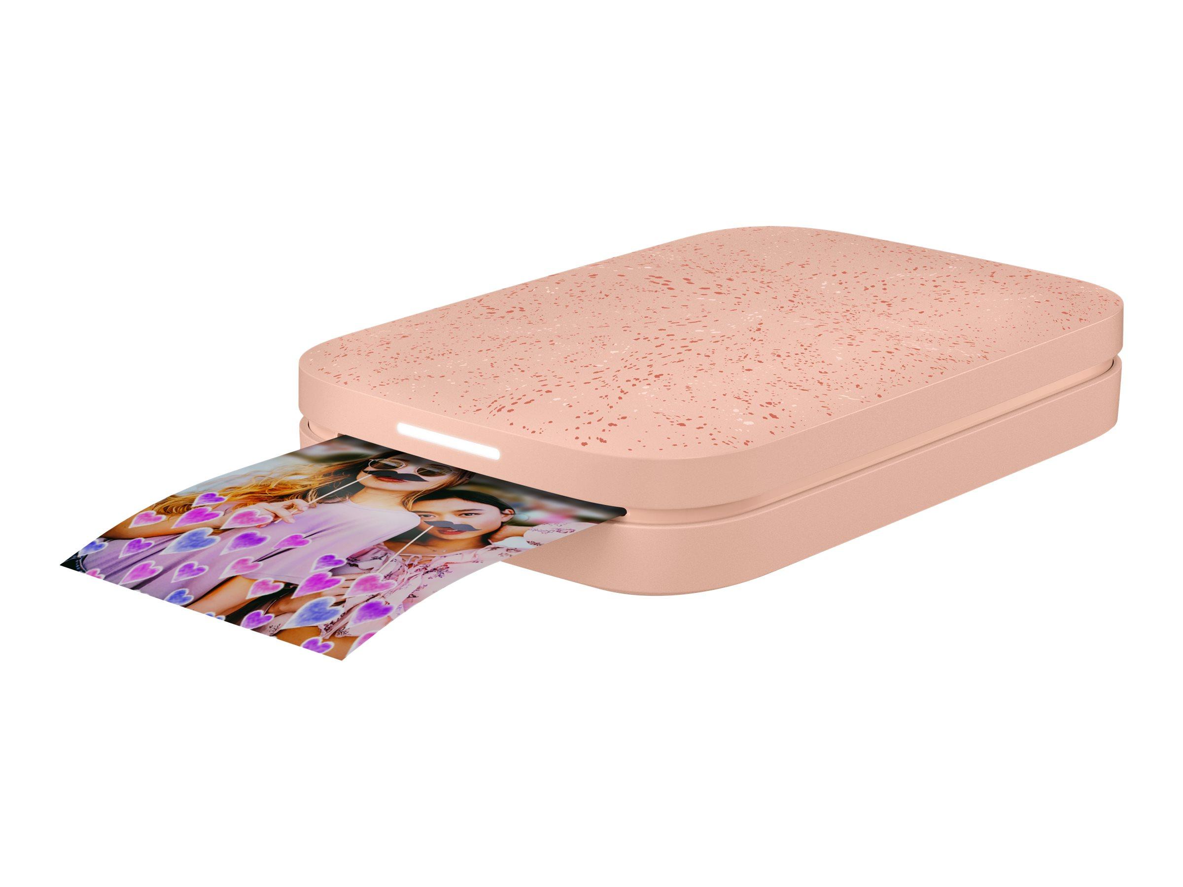 HP Sprocket 200 - Drucker - Farbe - Zink - 50.8 x 76 mm bis zu 0.67 Min./Seite (Farbe) - Kapazität: 10 Blätter