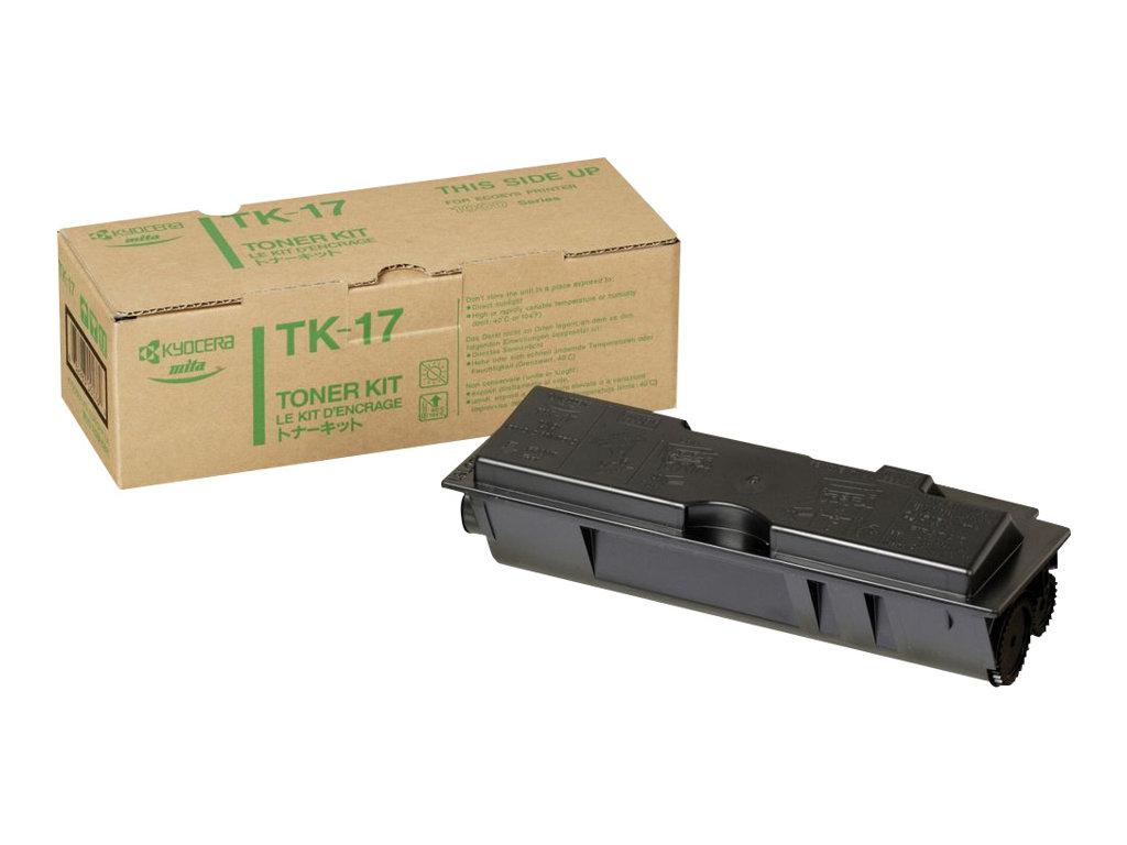 Kyocera TK 17 - Schwarz - Tonersatz - für FS-1000, 1000+N100, 1010, 1010N100, 1050