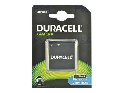 Duracell - Batterie - Li-Ion - 700 mAh - für Panasonic Lumix DMC-LX10, LX15, LX9; Lumix G DC-GF10, GF9W, GX800, GX850, GX880, DM
