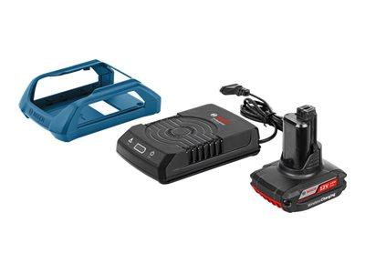 Bosch Starter Set - Wireless Charging-Halftertasche + Akku Li-Ion 2.5 Ah - 3 A