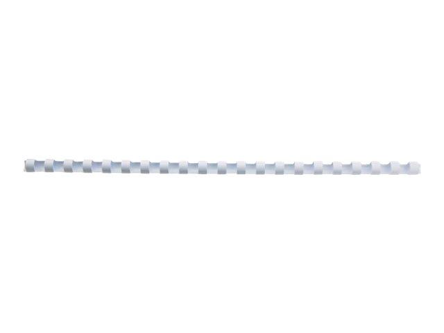 GBC CombBind - 6 mm - 21 Ringe - A4 (210 x 297 mm) - 25 Blätter - weiss