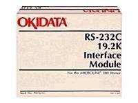 OKI - Serieller Adapter - RS-232 - RS-232 - für Microline 320, 321, 33XX, 385, 390, 391, 4410, 520, 521, 55XX, 590, 591, 6300