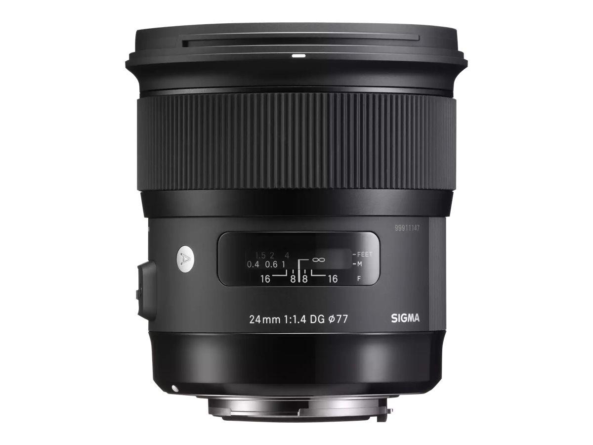 Sigma Art - Weitwinkelobjektiv - 24 mm - f/1.4 DG HSM - Canon EF