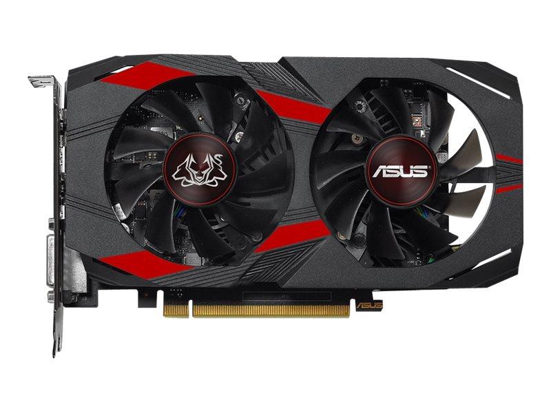 ASUS CERBERUS-GTX1050-O2G - OC Edition - Grafikkarten - NVIDIA GeForce GTX 1050 - 2 GB GDDR5 - PCIe 3.0 x16