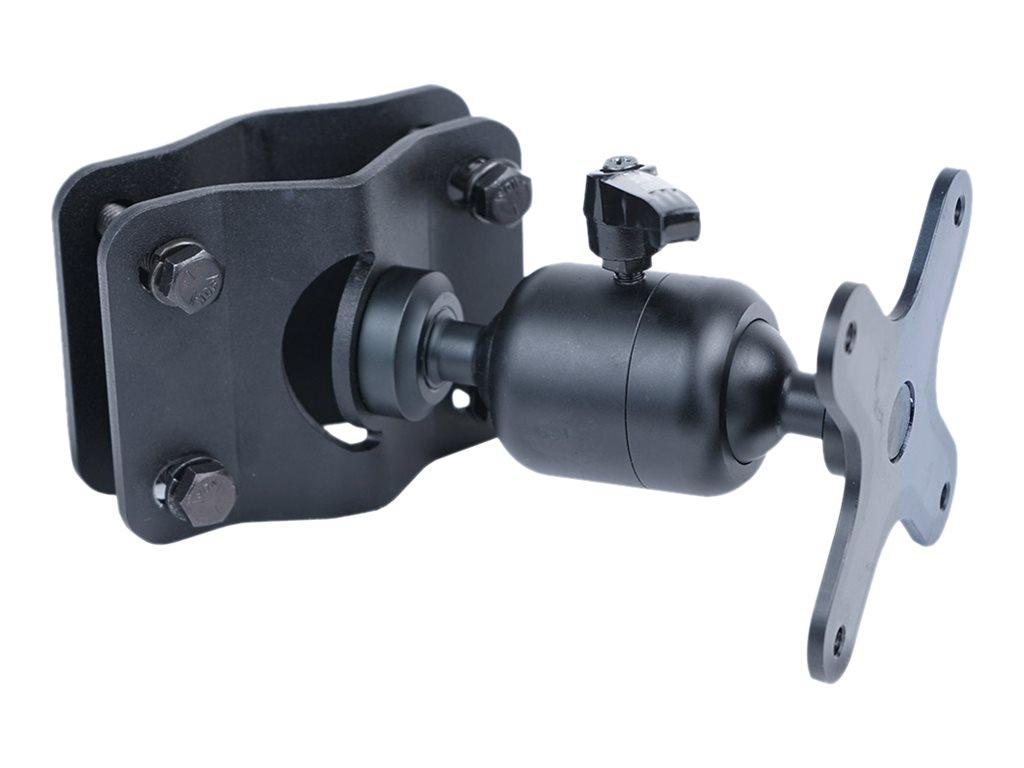 Gamber-Johnson Zirkona - Befestigungskit (VESA-Basis mit Kugel, grosser Joiner) - Montageschnittstelle: 75 x 75 mm - Stangenbefe
