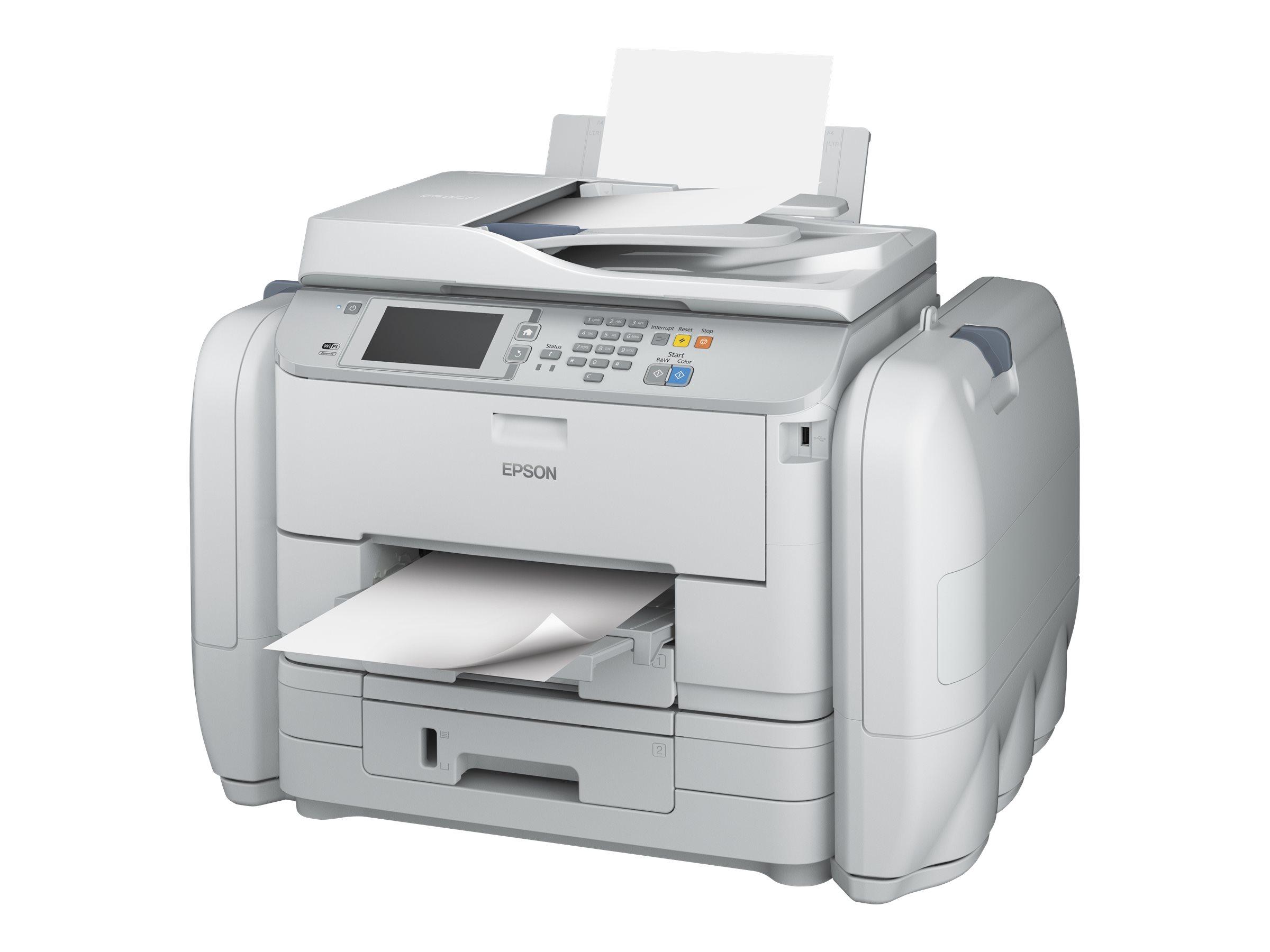 Epson WorkForce Pro WF-R5690 DTWF Flex BAM - Multifunktionsdrucker - Farbe - Tintenstrahl - A4/Legal (Medien) - bis zu 34 Seiten