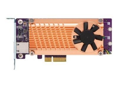 QNAP QM2-2P10G1TA - Speicher-Controller - M.2 - PCIe Low-Profile - PCIe 2.0 x4
