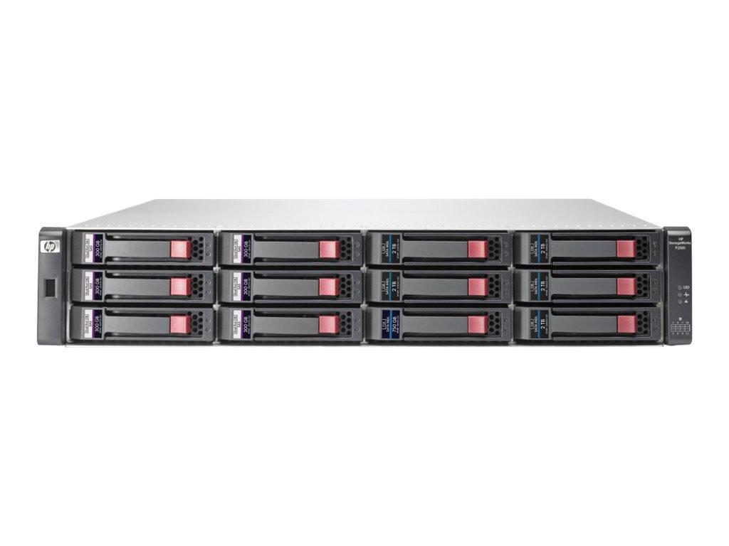 HPE StorageWorks Modular Smart Array P2000 G3 FC Dual Controller LFF Array - Festplatten-Array - 12 Schächte (SATA-300 / SAS-2)