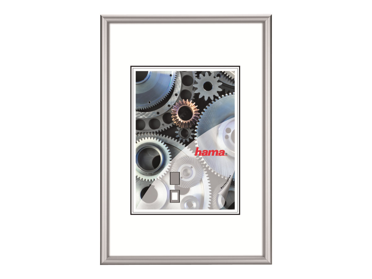 Hama Chicago - Fotorahmen - Konzipiert für: 30 x 40 cm - Aluminium