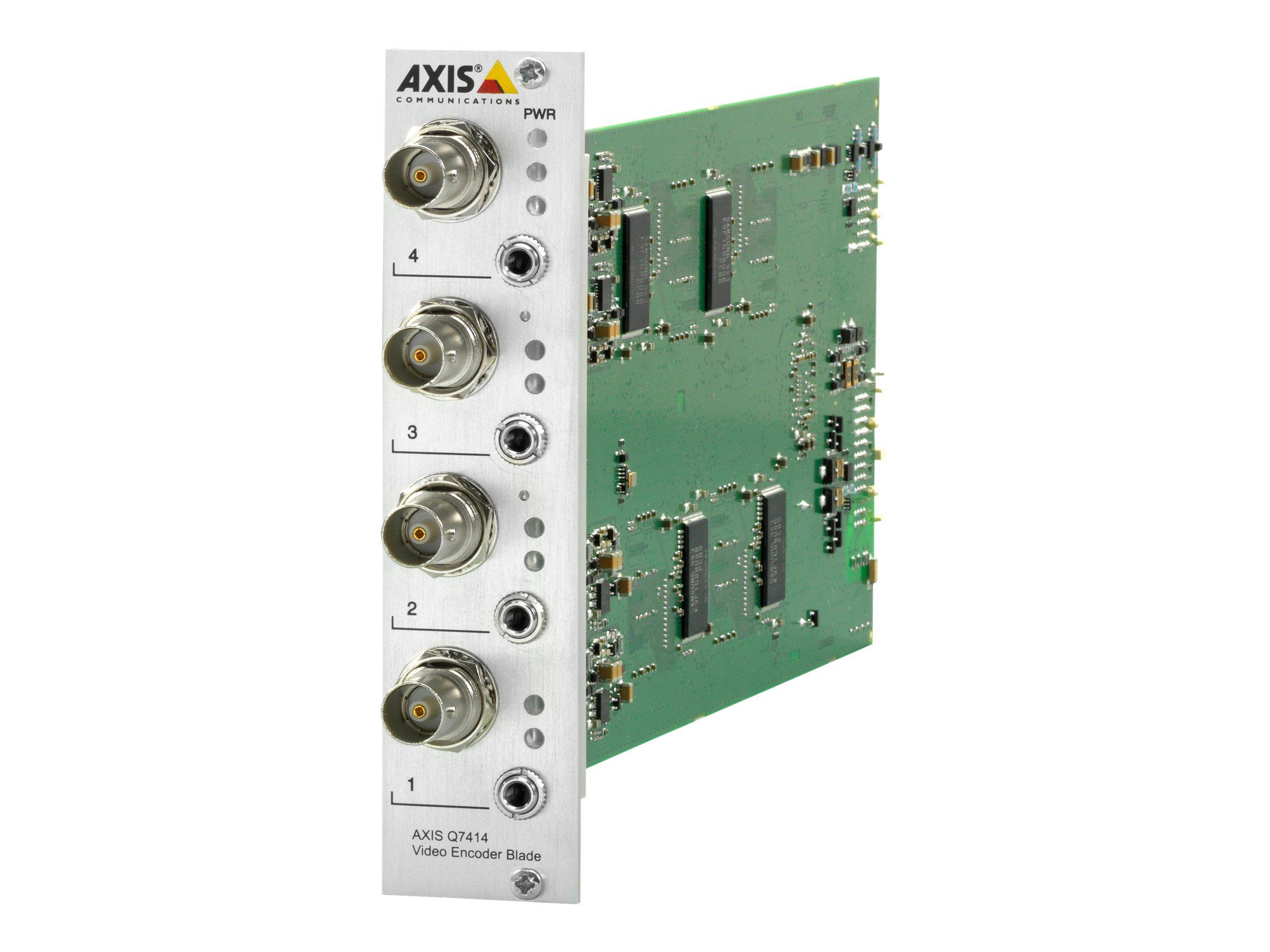AXIS Q7414 Video Encoder Blade - Video-Server - 4 Kanäle