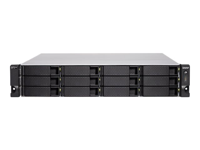 QNAP TS-h1283XU-RP - NAS-Server - 12 Schächte - Rack - einbaufähig - SATA 6Gb/s