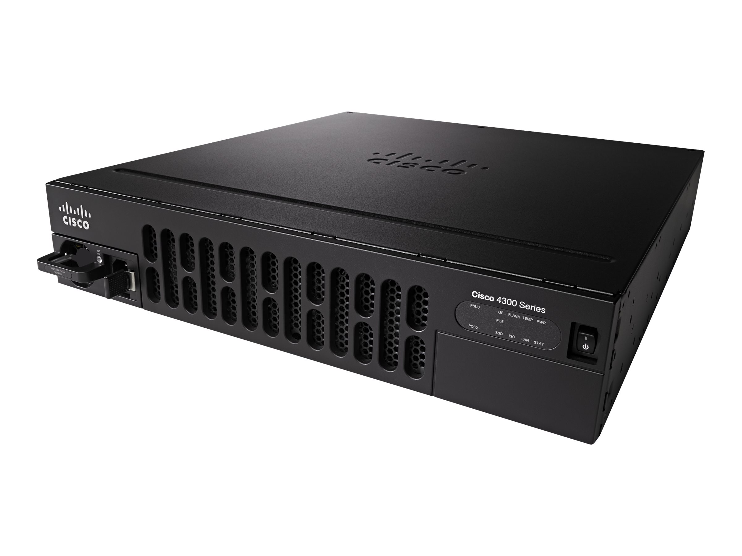 Cisco ONE ISR 4351 - Router - GigE - WAN-Ports: 3 - an Rack montierbar