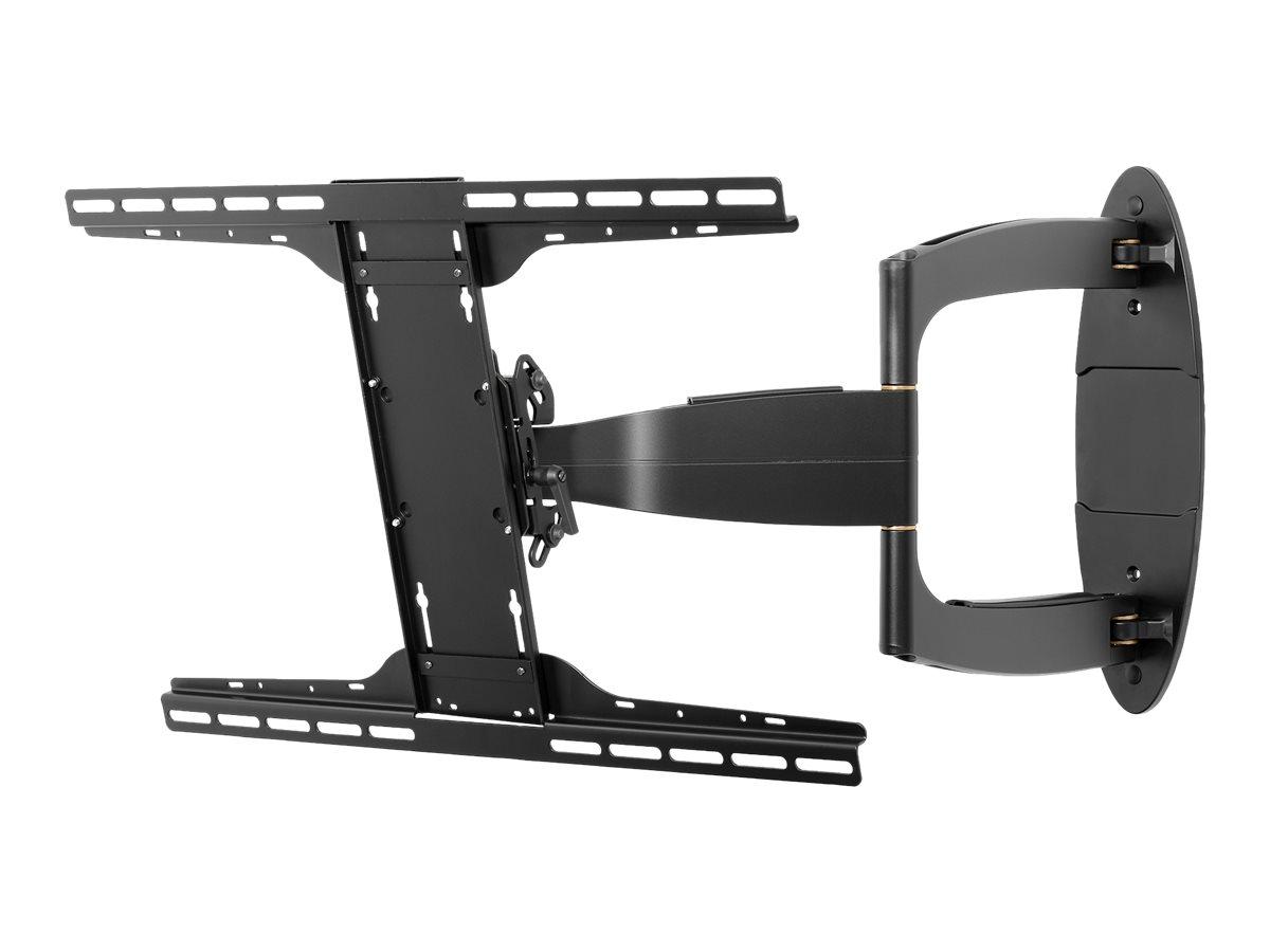 Peerless Universal Full-Motion Plus Wall Mount SA752PU - Wandhalterung für LCD-/Plasmafernseher - Epoxidharz - Glanzschwarz (37