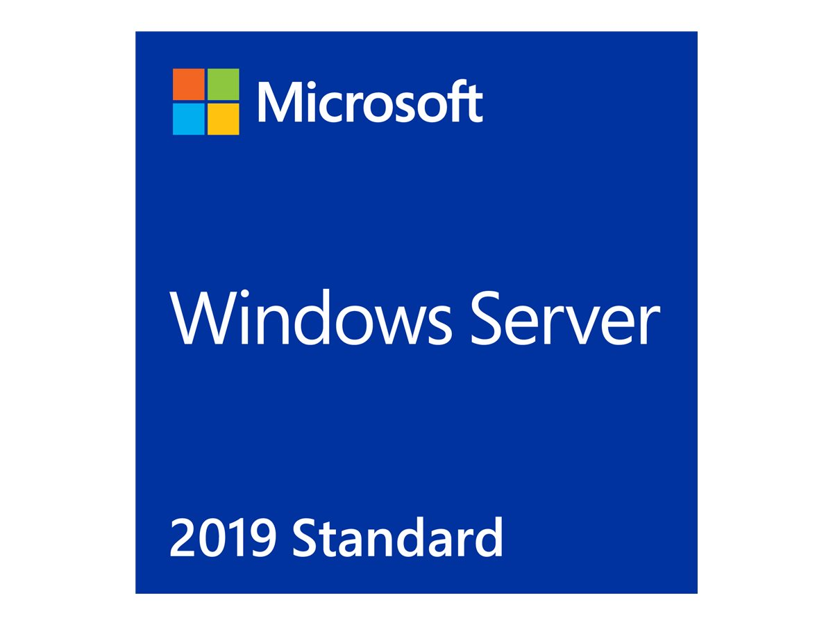 Microsoft Windows Server 2019 Standard - Lizenz - 24 Kerne - OEM - DVD - 64-bit
