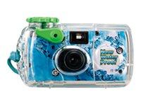 Fujifilm QuickSnap Marine - Einwegkamera - 35mm - Objektiv: 32 mm Blau (Packung mit 4)