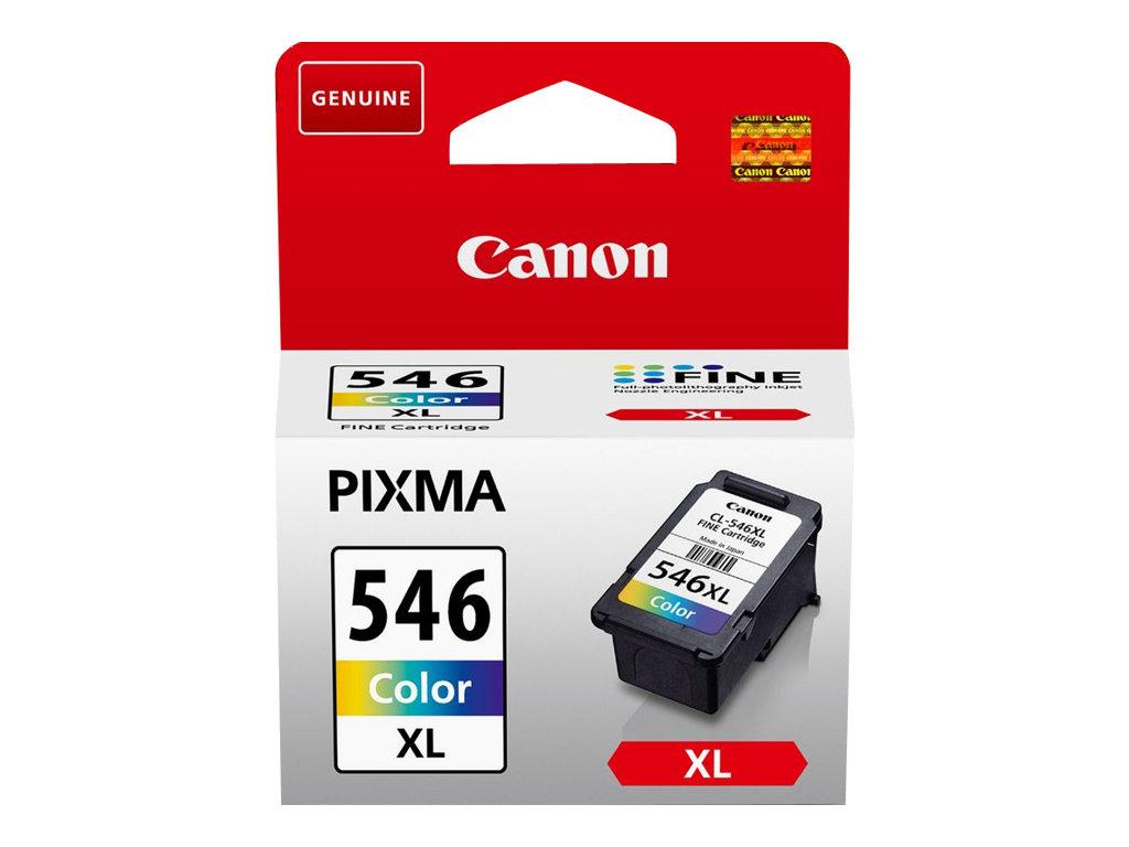 Canon CL-546XL - 13 ml - Hohe Ergiebigkeit - Farbe (Cyan, Magenta, Gelb) - Original - Blister mit Diebstahlsicherung