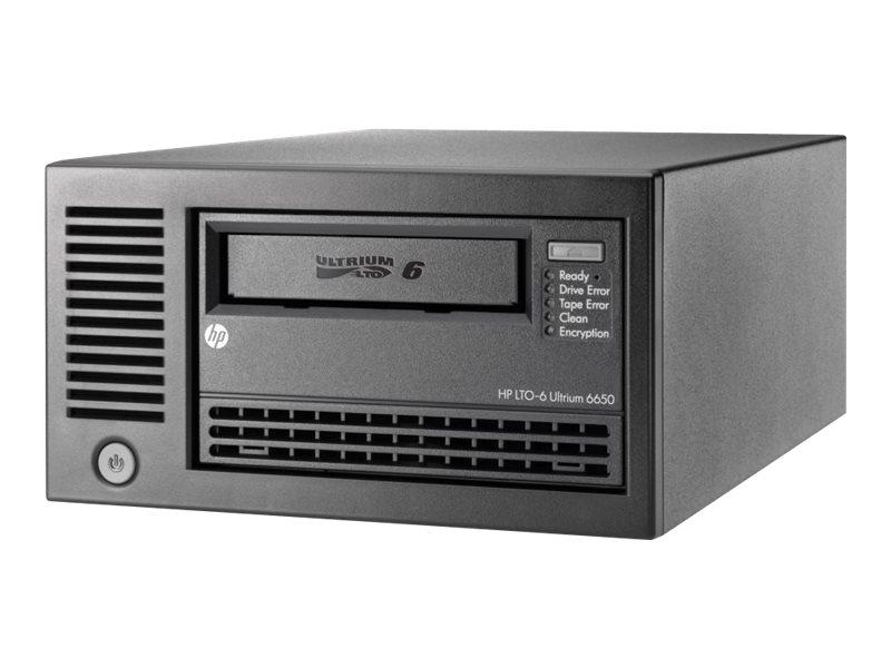 HPE StoreEver LTO-6 Ultrium 6650 - Bandlaufwerk - LTO Ultrium (2.5 TB / 6.25 TB) - Ultrium 6 - SAS-2 - extern