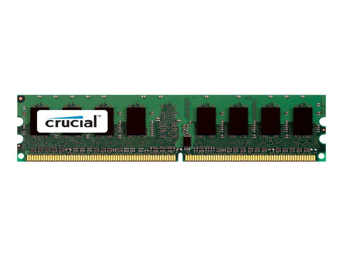 Crucial - DDR2 - 2 GB - DIMM 240-PIN - 800 MHz / PC2-6400 - CL5