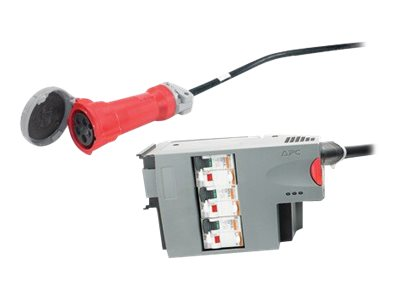 APC Power Distribution Module - Sicherungsautomat (Plug-In-Modul) - Wechselstrom 400 V - 3 Phasen - Ausgangsanschlüsse: 1 - für