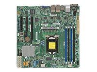 SUPERMICRO X11SSH-LN4F - Motherboard - micro ATX - LGA1151 Socket - C236 - USB 3.0