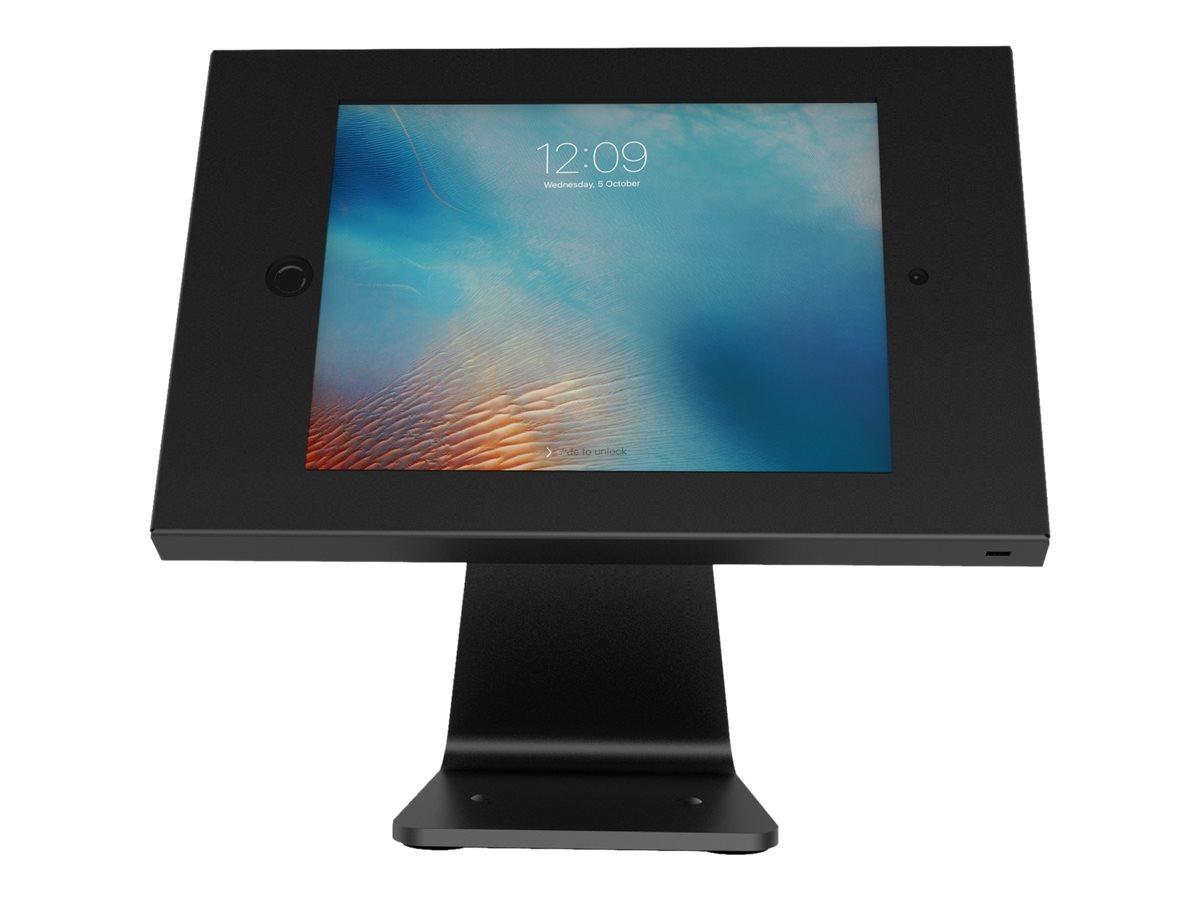 Compulocks Full 360 iPad Enclosure Kiosk - Gehäuse für Tablett - verriegelbar - hochwertiges Aluminium - Schwarz - Oberflächenmo