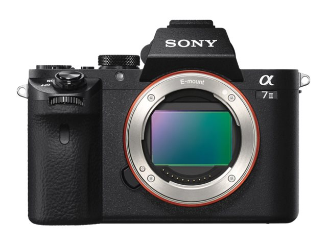 Sony a7 II ILCE-7M2 - Digitalkamera - spiegellos - 24.3 MPix - Vollbild - 1080p PE 24-70 mm f/4 ZA OSS-Linse