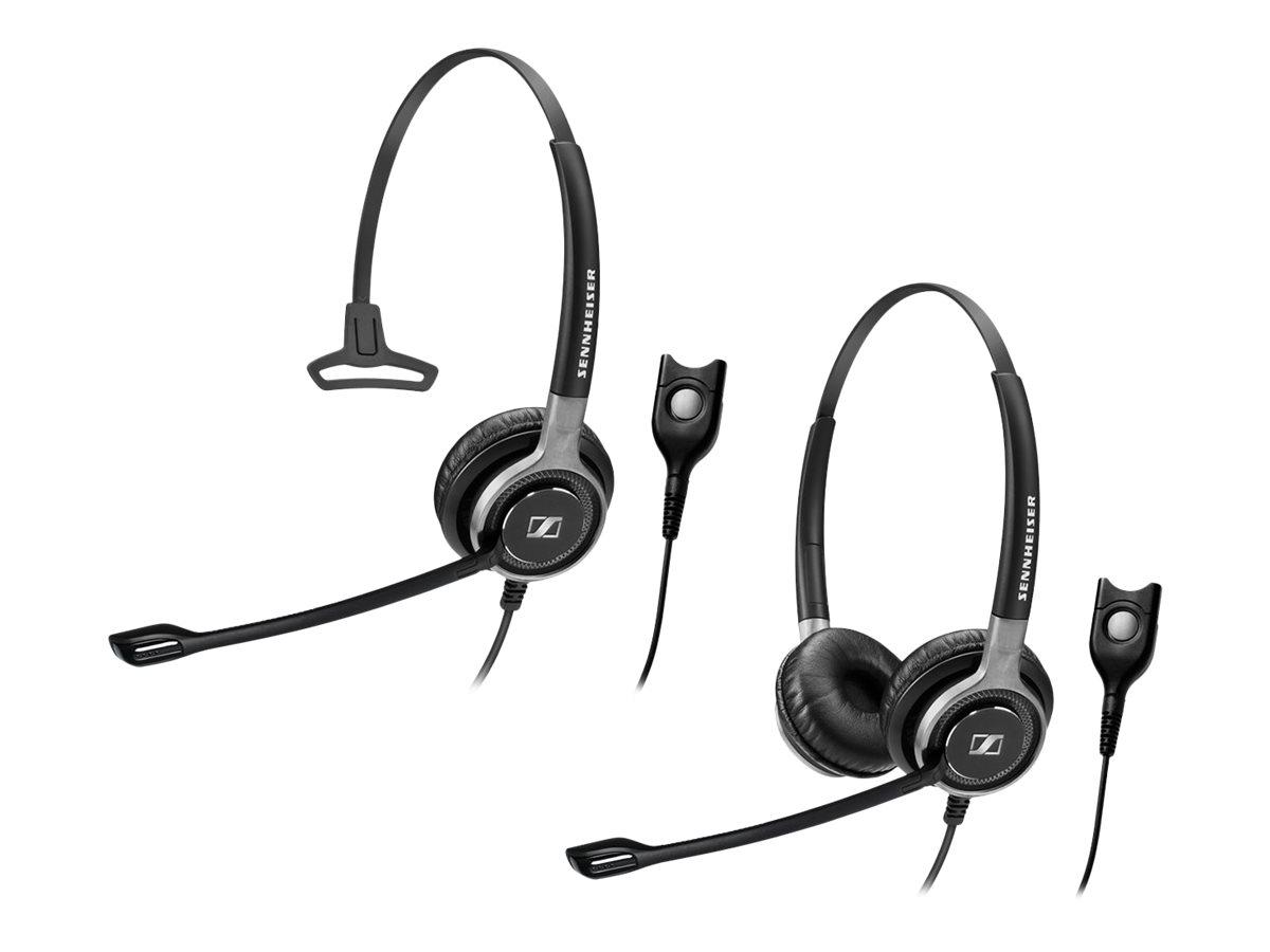 Sennheiser SC 668 - Century - Headset - On-Ear - kabelgebunden - Schwarz mit Silber