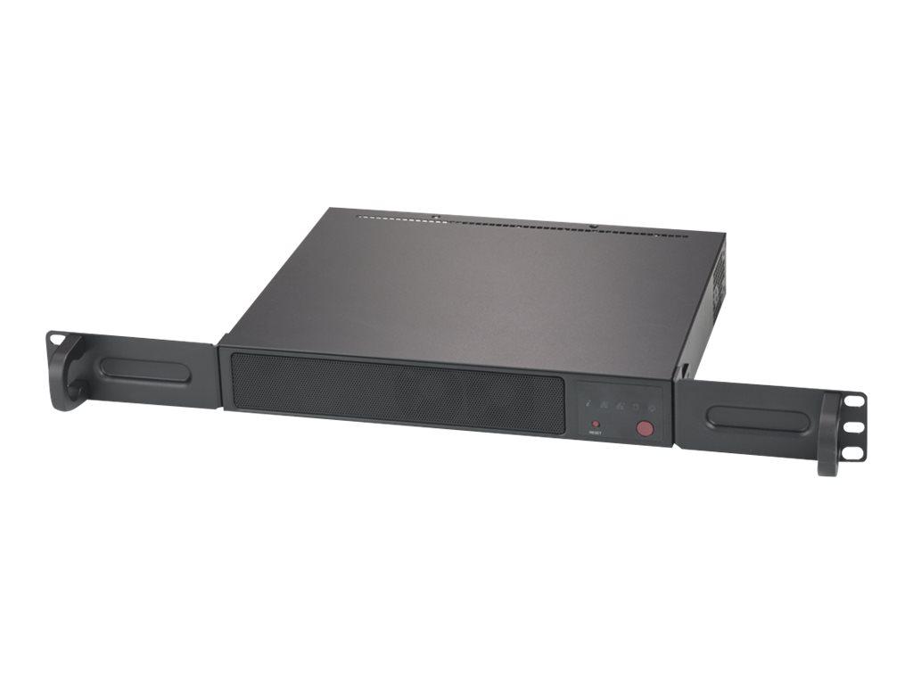 Supermicro SuperServer E300-9A-4CN10P - Server - Mini-1U - 1-Weg - 1 x Atom C3558 / 2.2 GHz - RAM 0 GB
