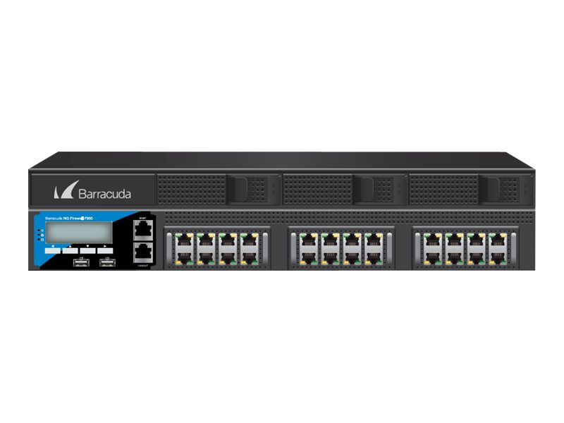 Barracuda CloudGen Firewall F-Series F900 model CCC - Firewall - GigE - 2U - Rack-montierbar