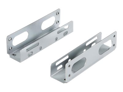 StarTech.com 3,5 (8,9cm) Universal Festplatten Einbauwinkel - Einbauschienen / Speichereinschubadapter für 5,25 (13,3cm) HDD Sch