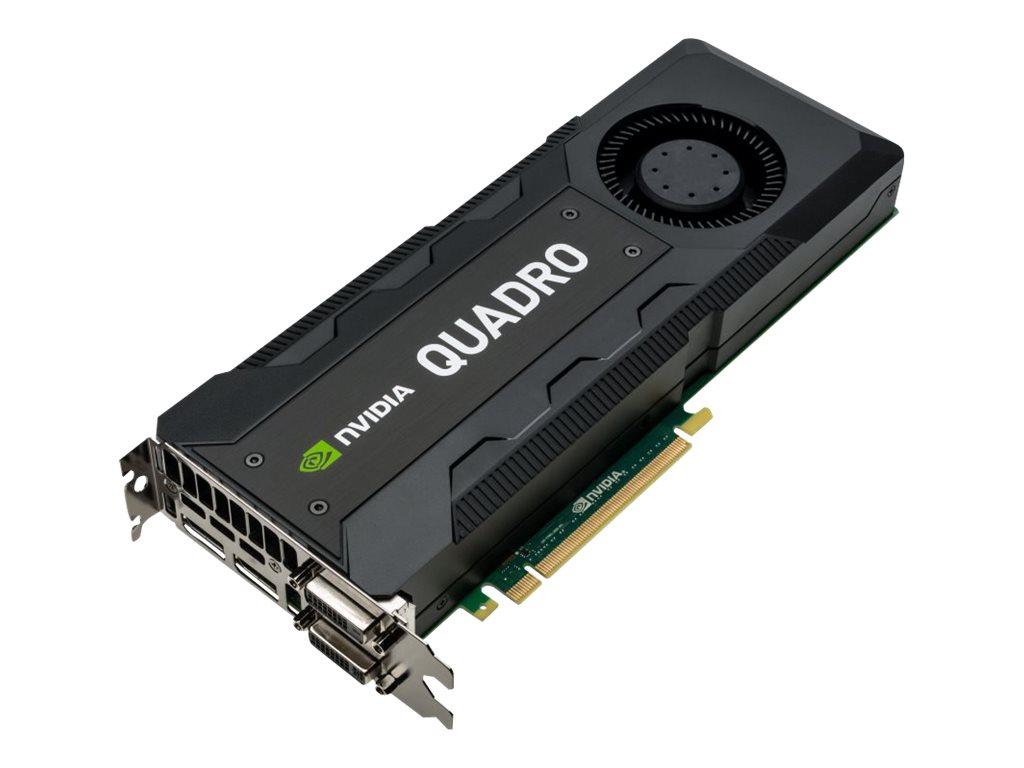 NVIDIA Quadro K5200 - Grafikkarten - Quadro K5200 - 8 GB GDDR5 - PCIe 3.0 x16 - 2 x DVI, 2 x DisplayPort