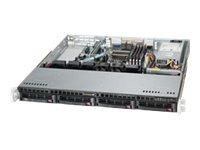 Supermicro SuperServer 5018A-MHN4 - Server - Rack-Montage - 1U - 1-Weg - 1 x Atom C2758