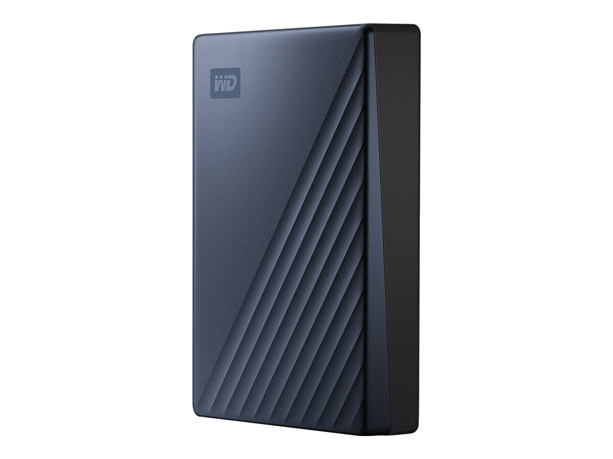WD My Passport Ultra WDBFTM0040BBL - Festplatte - verschlüsselt - 4 TB - extern (tragbar) - USB 3.0 (USB-C Steckverbinder)