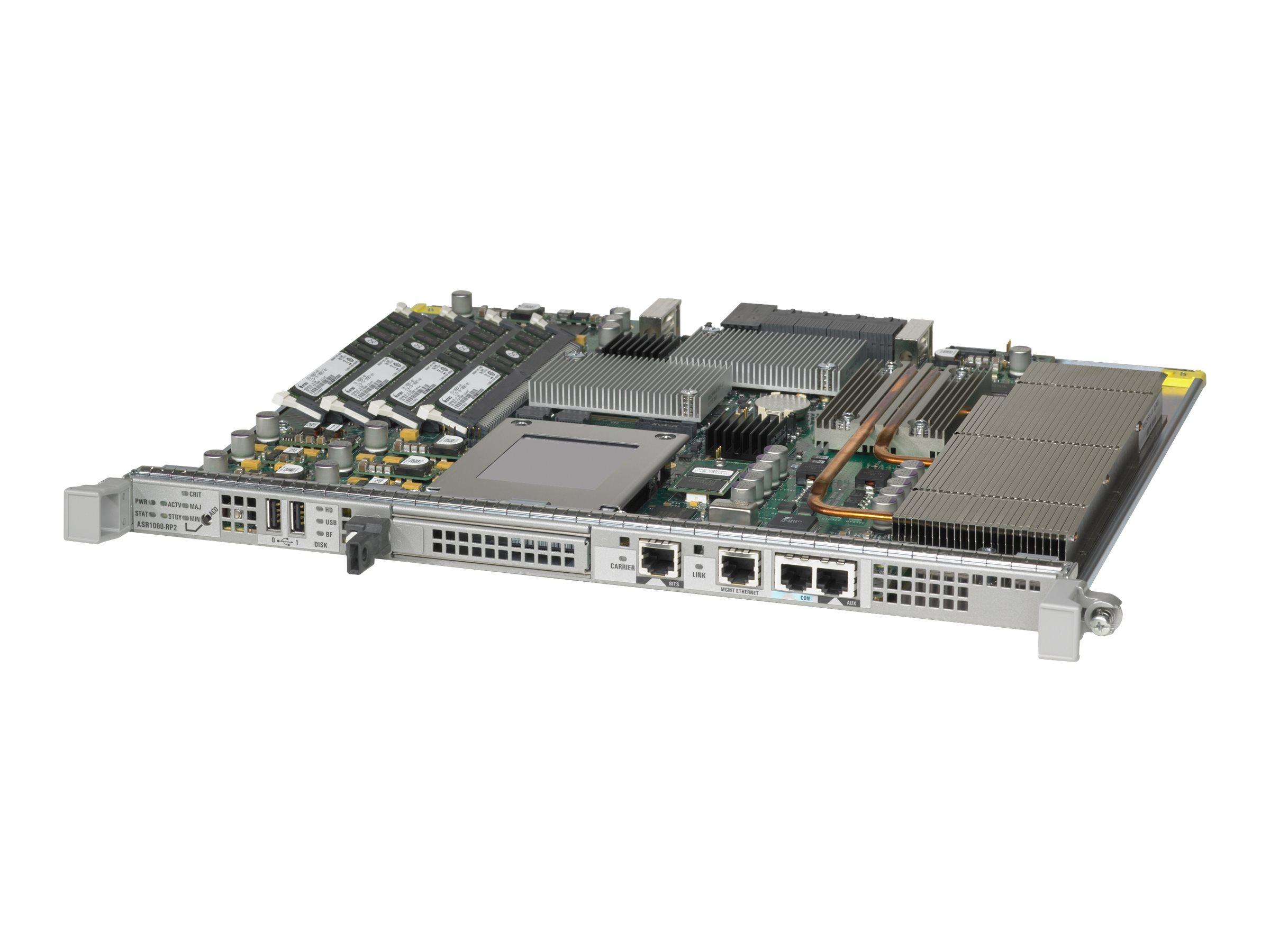 Cisco ASR 1000 Series Route Processor 2 - Router - Plugin-Modul - für ASR 1004, 1006