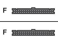 HPE - IDE-/EIDE-Kabel - IDC 40-polig (W) bis IDC 40-polig (W) - für Integrity cx2600, cx2620