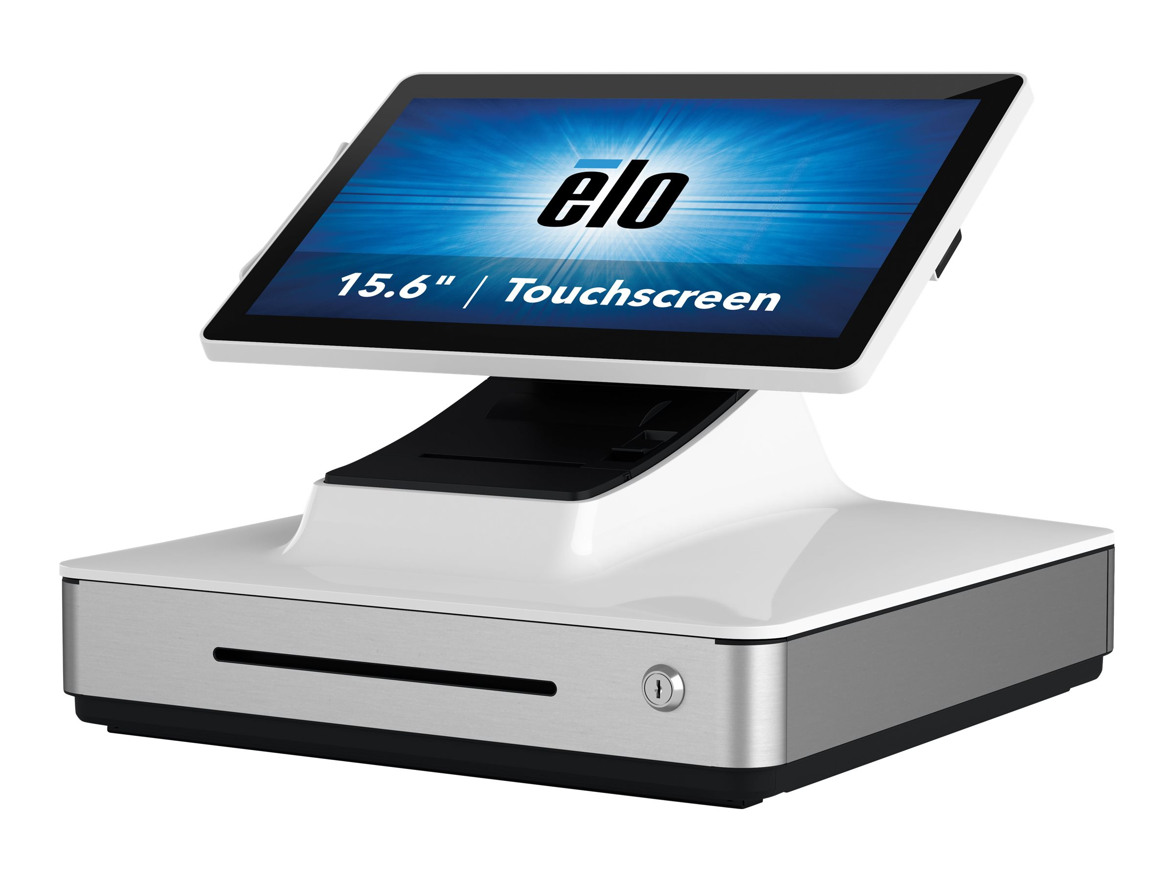Elo PayPoint Plus - All-in-One (Komplettlösung) - 1 x Core i5 8500T / 2.1 GHz - RAM 8 GB - SSD 128 GB - HD Graphics