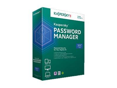 Kaspersky Password Manager - Box-Pack (1 Jahr) - 1 Benutzer (Sierra) - Win, Mac, Android, iOS - Deutsch